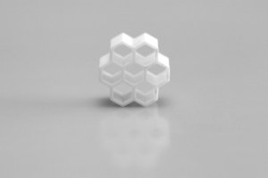 Wabenform 3D-Objekt
